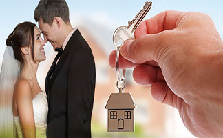 Buying a Home newly weds