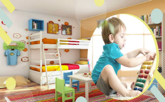 Oswal Group - Kids' Room Livelier