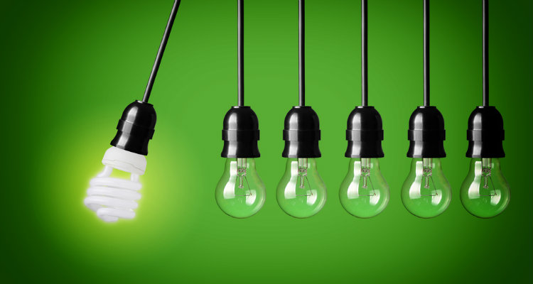 save electricity, CFL or LED bulbs