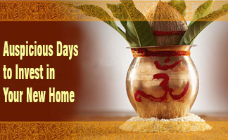 Auspicious Days to Invest in Your New Home