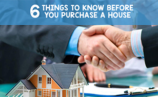 Things to Know Before You Purchase a House