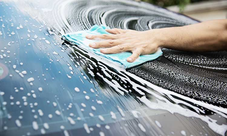 Don't forget wash your car