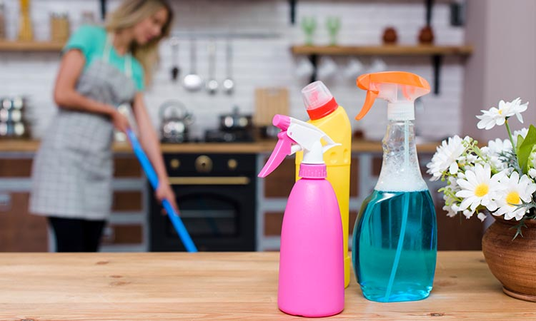 Clean Your Room with Bacteria-killing Sprays