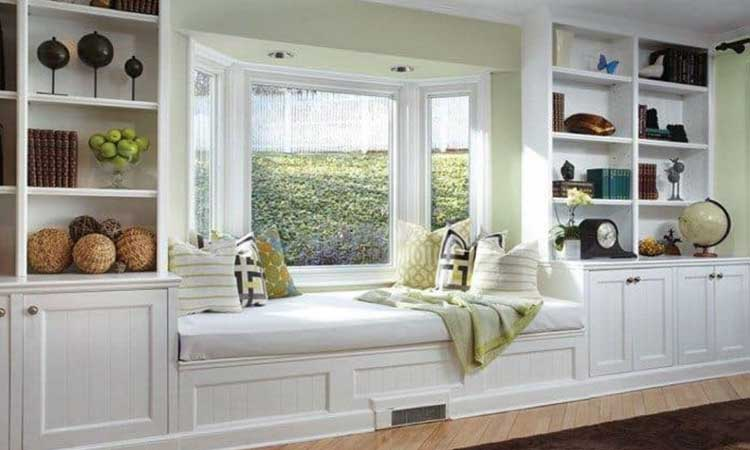 Separate the reading nook