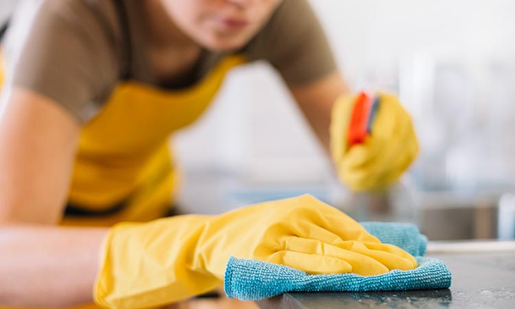 Clean and Disinfect Flat