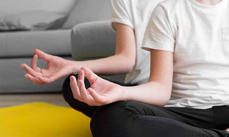 Meditation Corner in Apartment